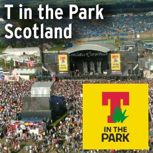 T in the Park Festival, Kinross, UK @ | | |