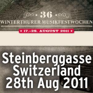 Winterthurer Musikfestwochen, Steinberggasse, CH @  |  |  |