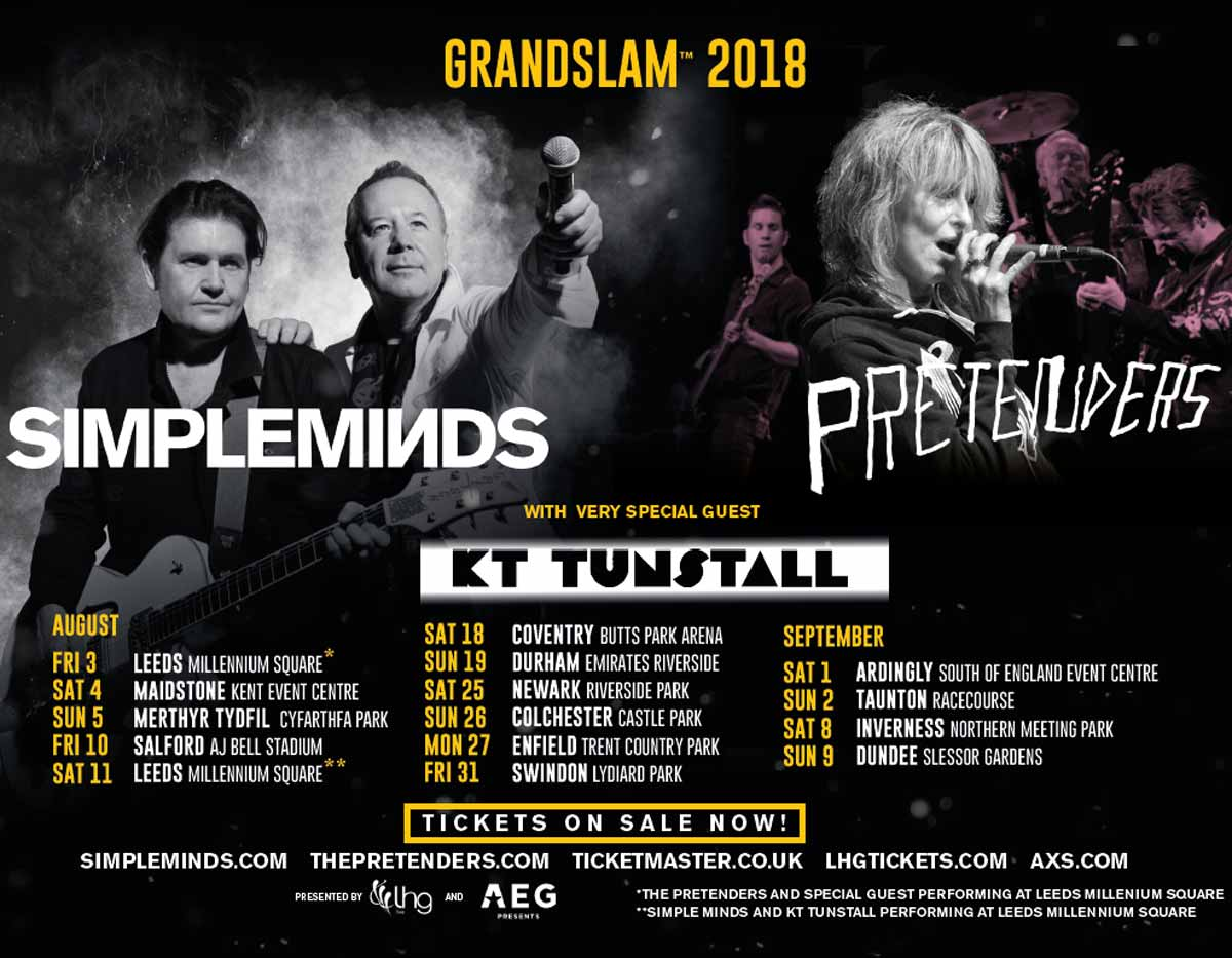 Meet greet grandslam 2018 simpleminds 01 aug 2018 meet greet grandslam 2018 m4hsunfo