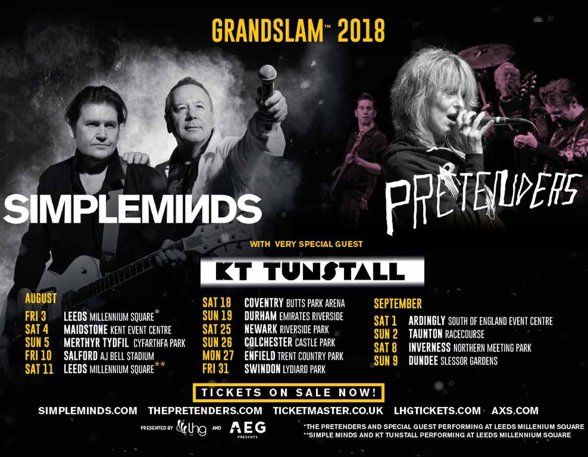 Meet Greet Grandslam 2018 Simpleminds