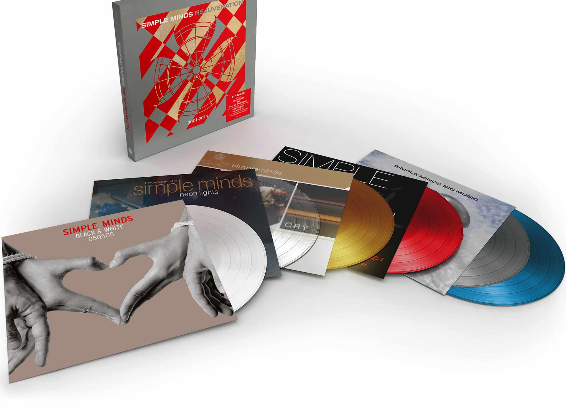 Rejuvenation Vinyl Box Set