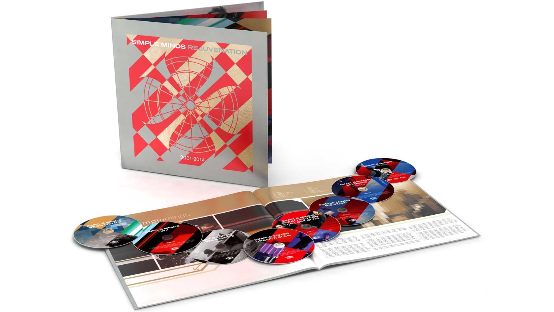 Rejuvenation – 7CD+DVD Book Set